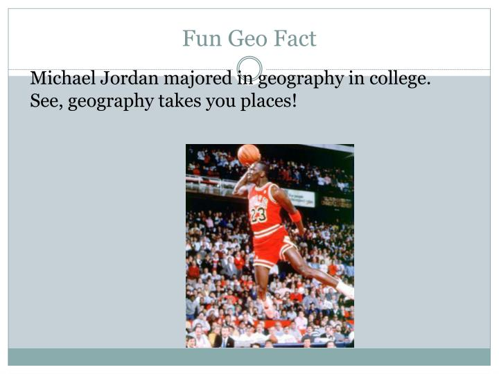 Fun geo fact