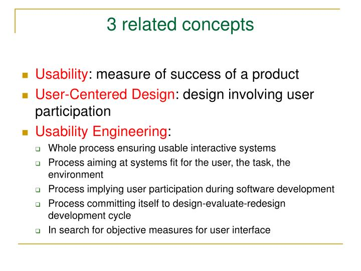 3 related concepts