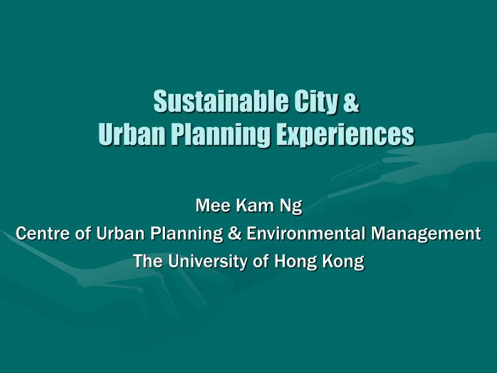 this idea of sustainable urban planning environmental sciences essay The curriculum combines urban planning, sustainable design, policy and environmental science to provide students with an understanding of the the program envisions a society where individuals and groups can fully participate in the planning and development of their communities such that basic.