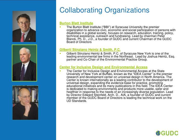 Collaborating organizations
