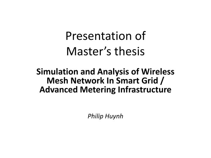 tkk thesis The main aim of these instructions is to help students to write their master's thesis in data communications software major (in computer science) at tkk, but these instructions can be applied to other type of writing works.