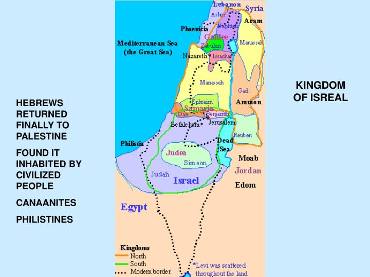 KINGDOM OF ISREAL