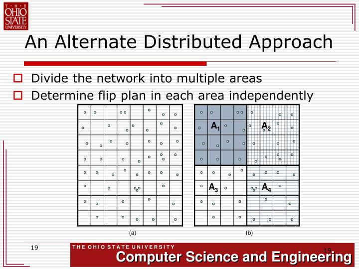 An Alternate Distributed Approach