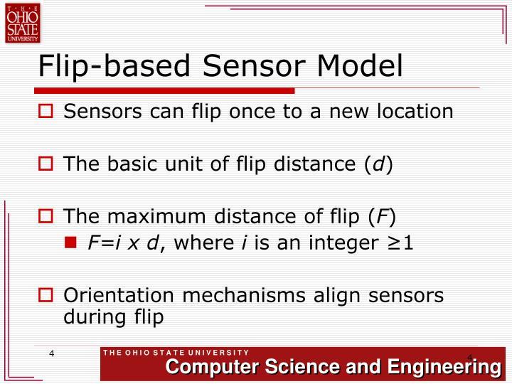 Flip-based Sensor Model