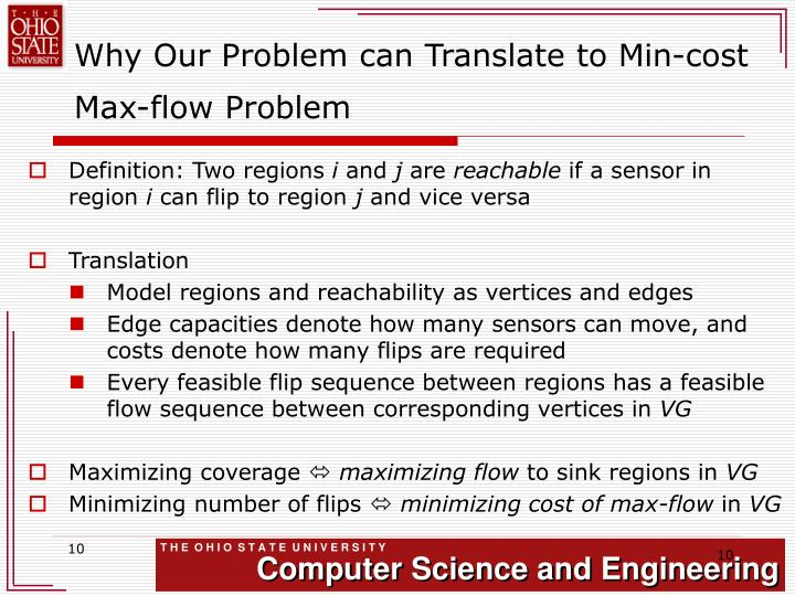 Why Our Problem can Translate to Min-cost Max-flow Problem