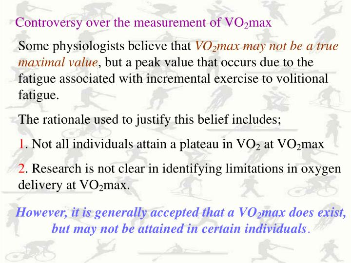 Controversy over the measurement of VO