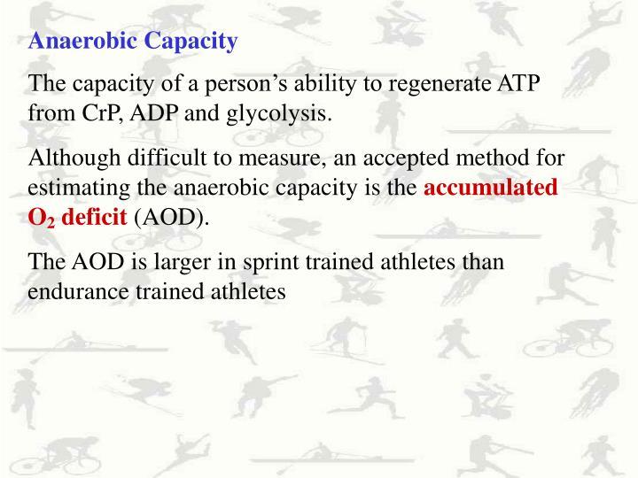 Anaerobic Capacity