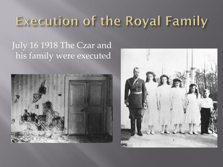 Execution of the Royal Family