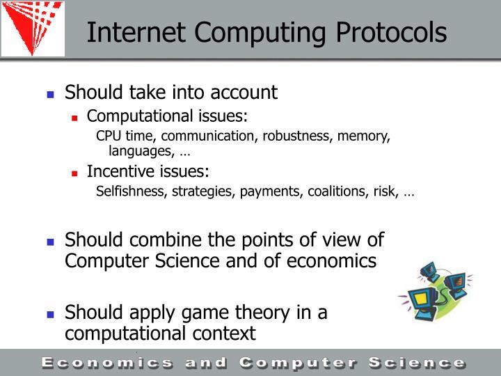 Internet Computing Protocols