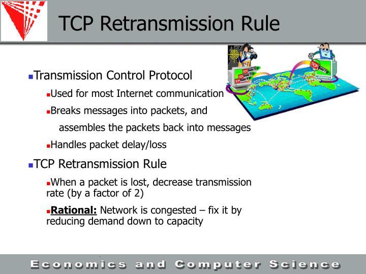 TCP Retransmission Rule