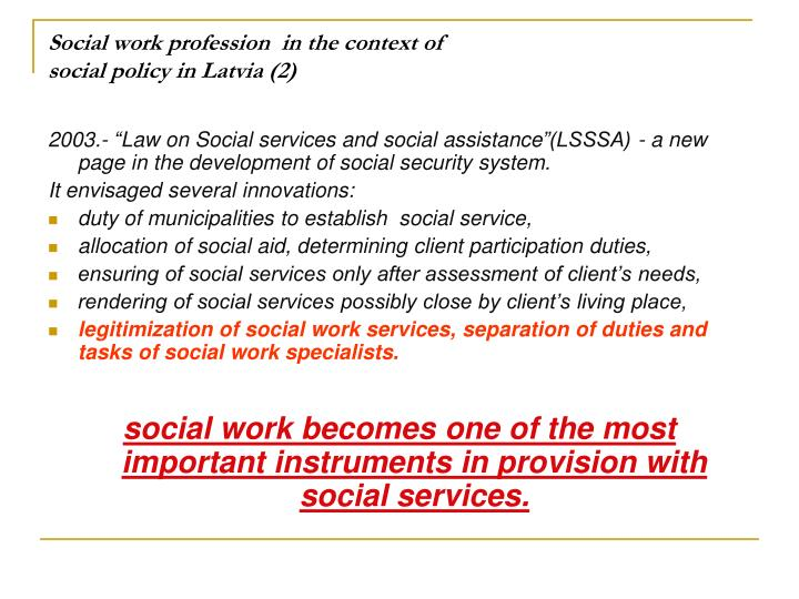 social work as a profession Jsu home school of human services & social sciences social work careers in social work nasw code of ethics nasw code of ethics summary the nasw code of ethics is intended to serve as a guide to the everyday professional conduct of social workers this code includes four sections the first section, preamble, summarizes the social work profession.