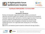 iii og lnopolskie forum sp dzielczo ci socjalnej13
