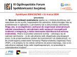 iii og lnopolskie forum sp dzielczo ci socjalnej16