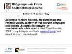 iii og lnopolskie forum sp dzielczo ci socjalnej20