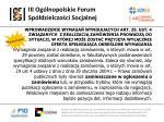 iii og lnopolskie forum sp dzielczo ci socjalnej21