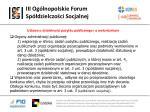 iii og lnopolskie forum sp dzielczo ci socjalnej9