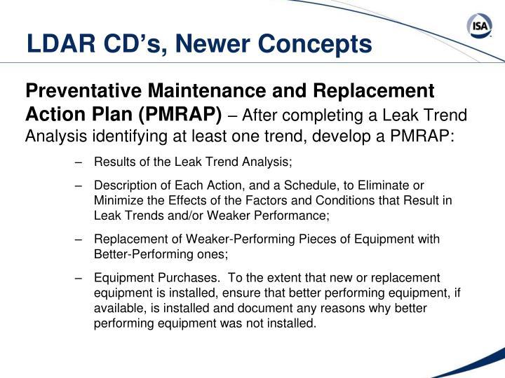 LDAR CD's, Newer Concepts