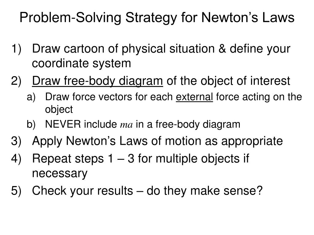 PPT - Newton's Laws of Motion PowerPoint Presentation - ID