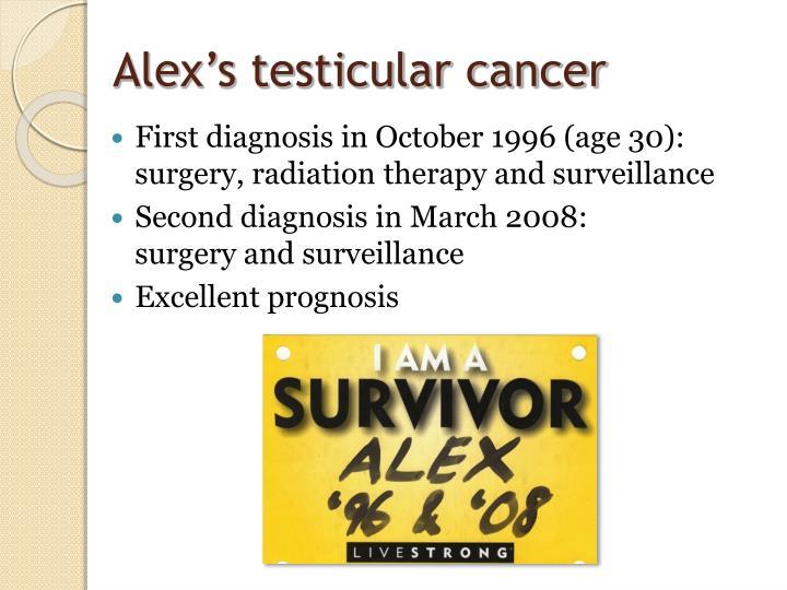 Alex s testicular cancer