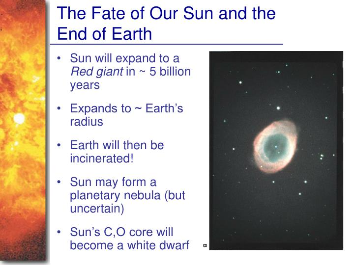 The Fate of Our Sun and the