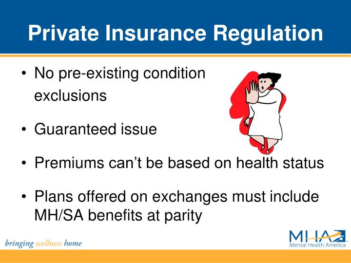 Private insurance regulation