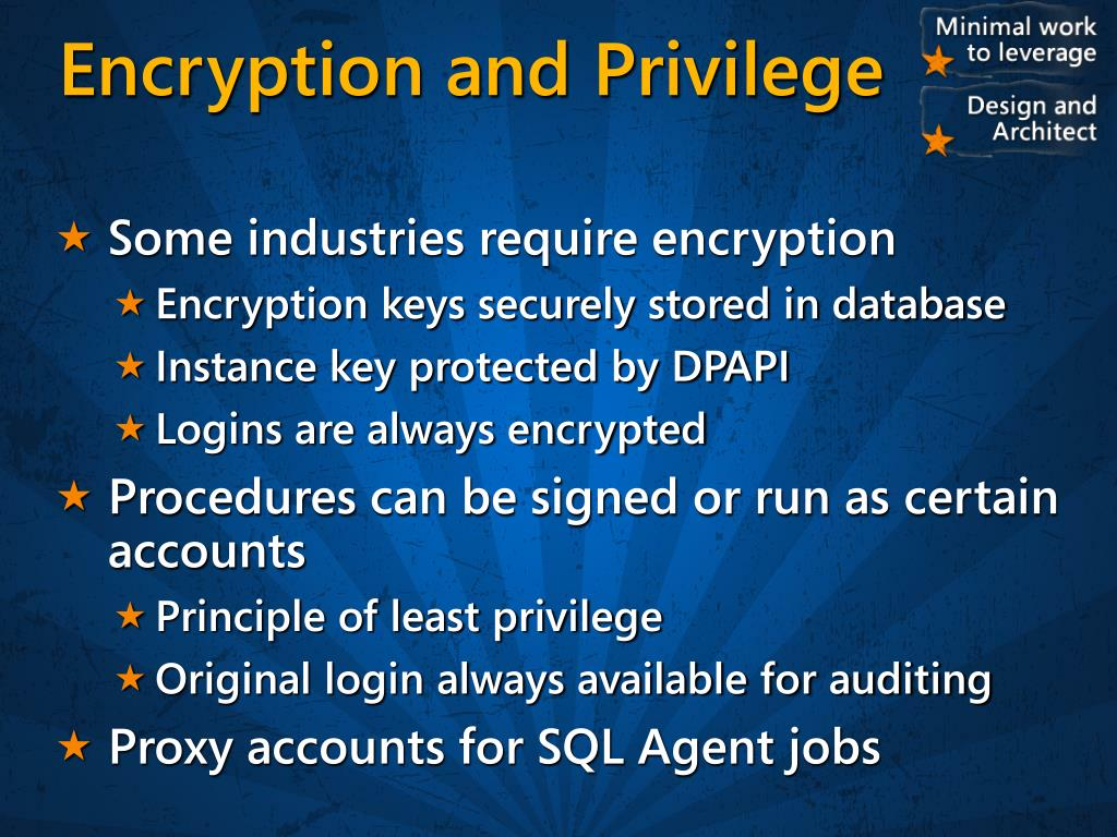 PPT - Architecting Scalable, Flexible and Secure Database