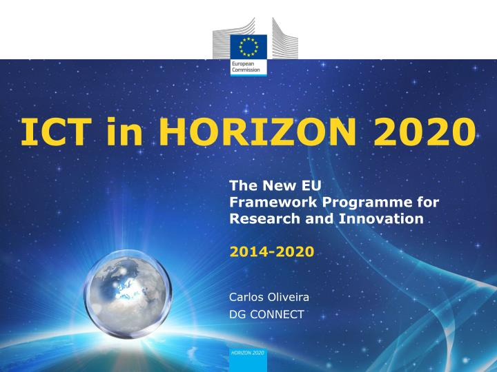 ict in horizon 2020 n.