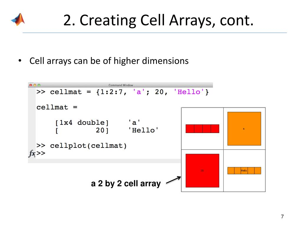 PPT - Cell Arrays PowerPoint Presentation - ID:4507572