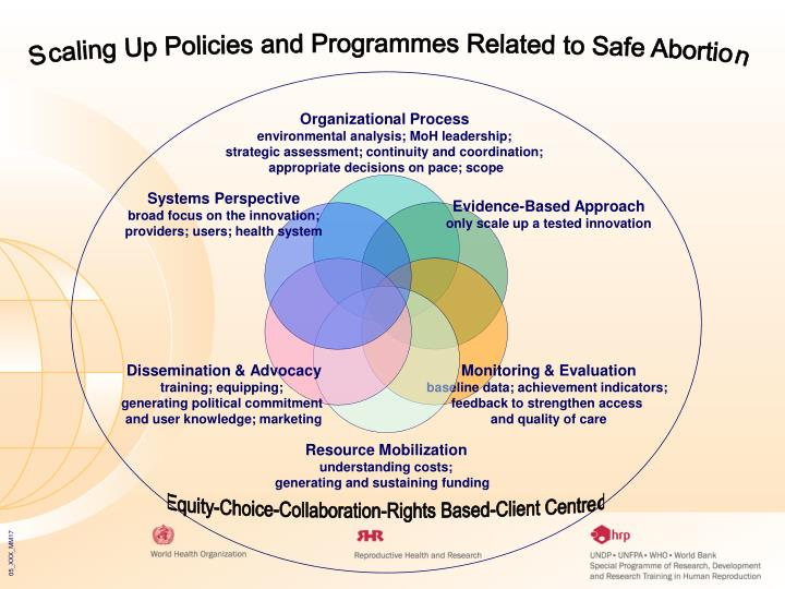 Scaling Up Policies and Programmes Related to Safe Abortion
