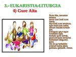 3 eukaristia liturgia 4 gure aita