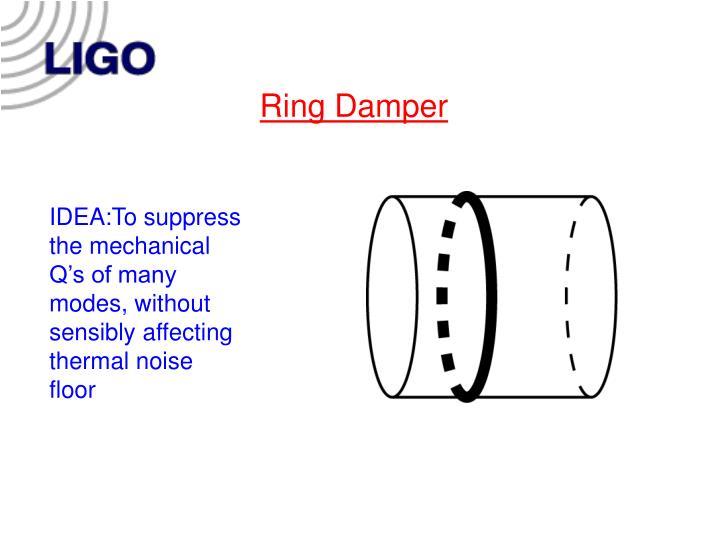 Ring Damper
