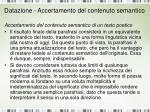 datazione accertamento del contenuto semantico1