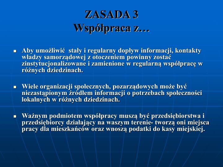 ZASADA 3