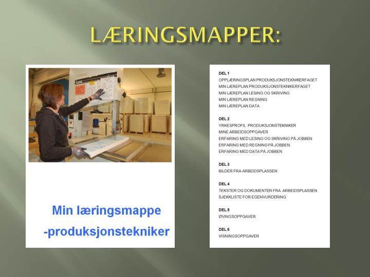 LÆRINGSMAPPER: