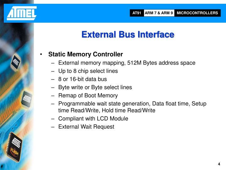 External Bus Interface