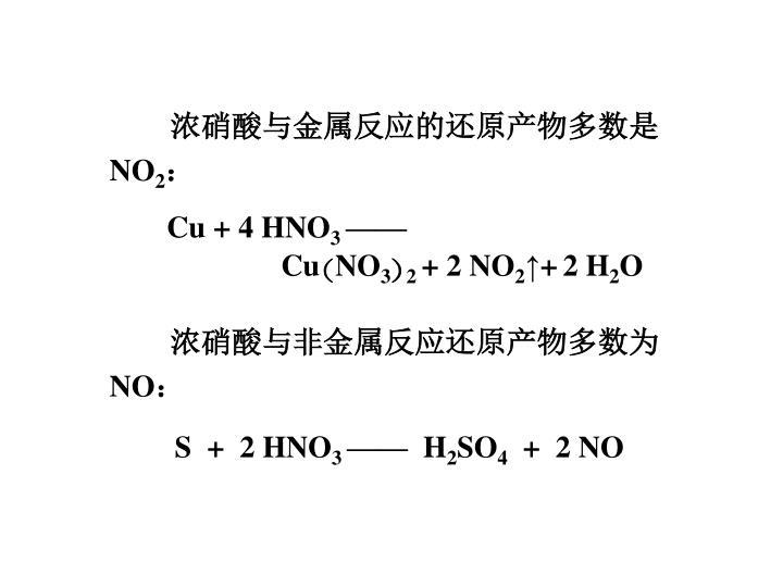 Cu + 4 HNO