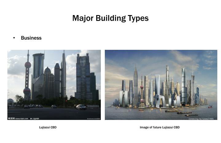 Major Building Types