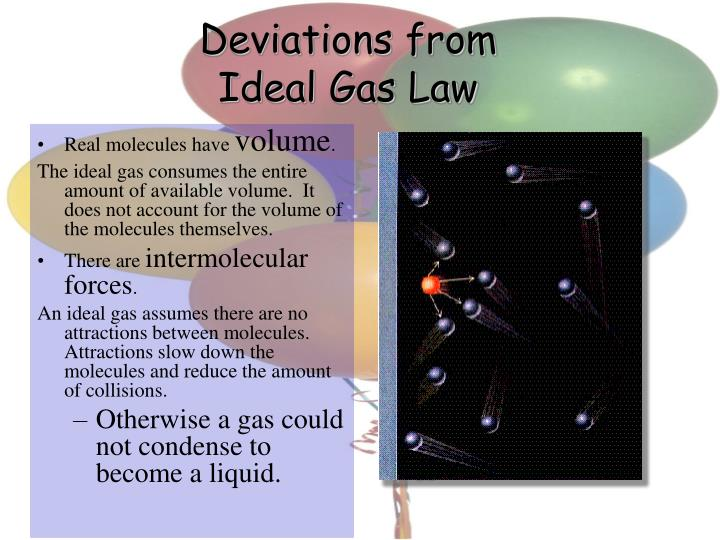 Deviations from