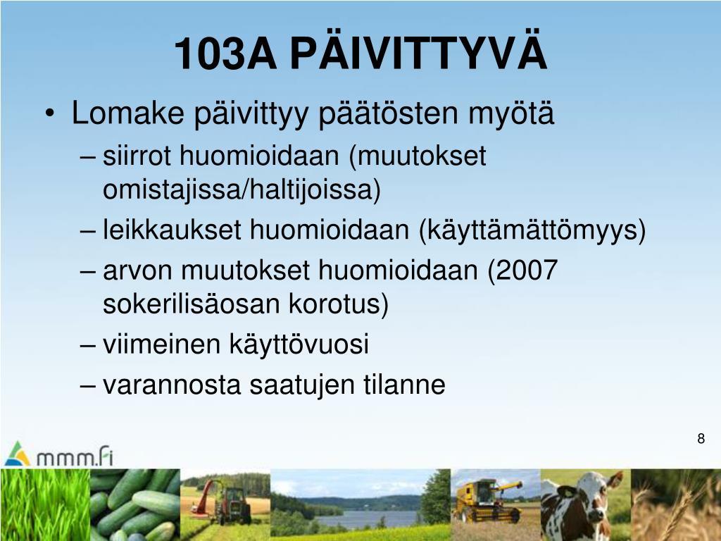 Lomake 103a