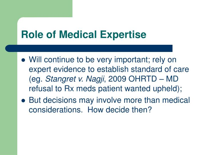 the role and challenges of medical There are models of multidisciplinary care teams  is a clear consensus about the critical role of  regulatory frameworks and scope of practice challenges.