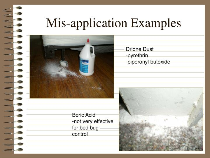 Mis-application Examples