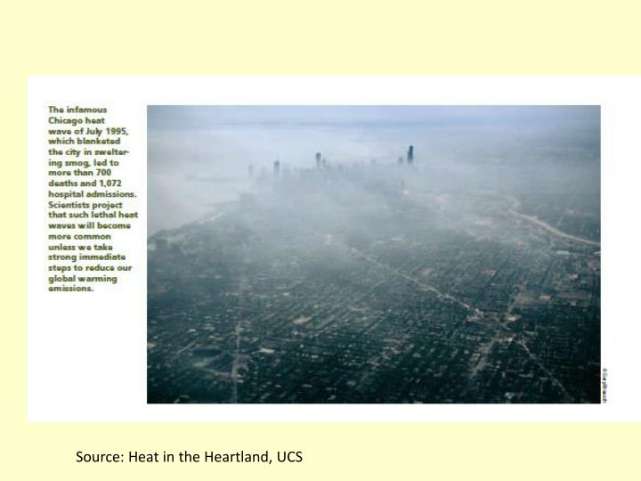 Source: Heat in the Heartland, UCS