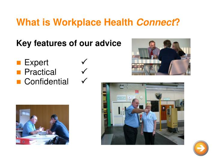 What is workplace health connect1