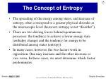 the concept of entropy1
