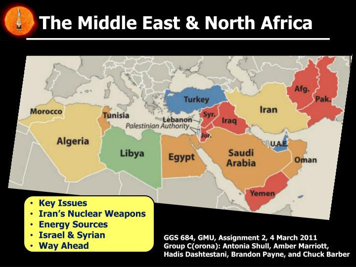 the middle east north africa n.