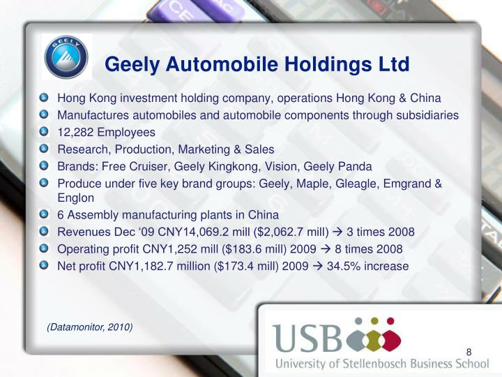 geely automobile holdings ltd 0175 Hk:0175 - geely automobile holdings ltd basic chart, quote and financial news from the leading provider and award-winning bigchartscom.