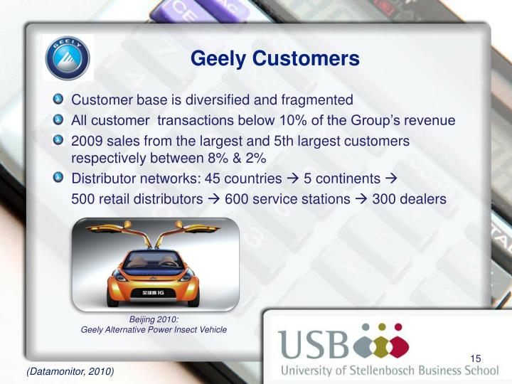 PPT - Automobile Industry: The Case of Geely Motors PowerPoint Presentation - ID:4510877