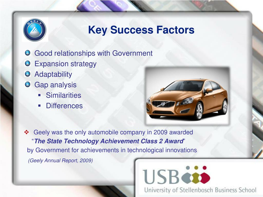 PPT - Automobile Industry: The Case of Geely Motors