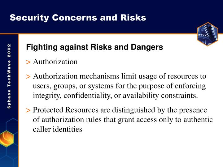 Security Concerns and Risks