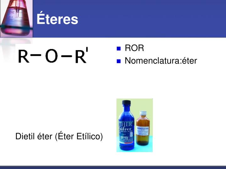 Dietil éter (Éter Etílico)